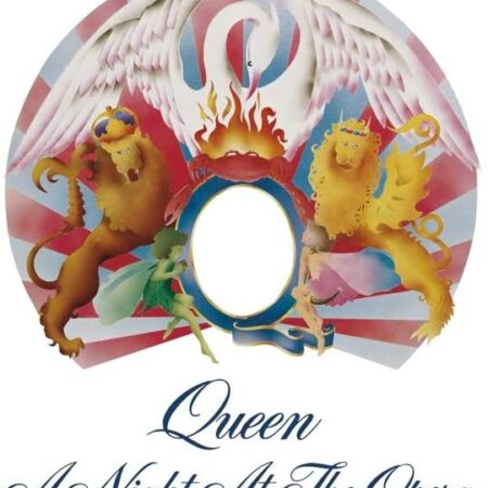 Album Queen - Copertina Vinile A Night at the Opera