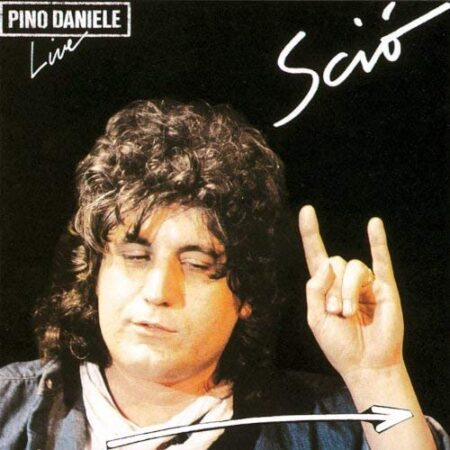 Album Sciò Live - Vinili Pino Daniele - copertina