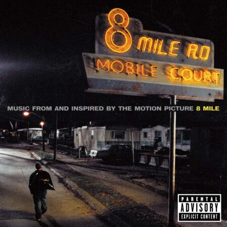 vinile 8 mile album eminem soundtrack film