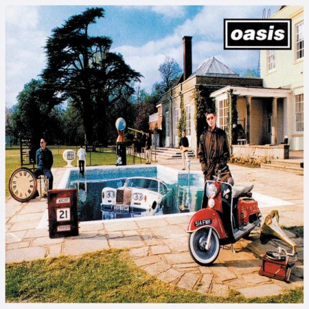 vinile be here now album oasis