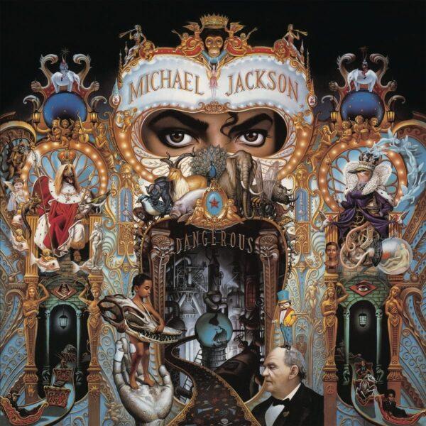 Vinile Dangerous Copertina Album Michael Jackson