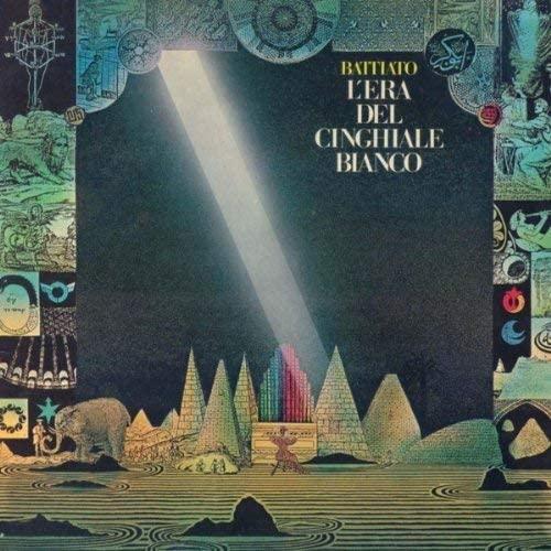 Vinile L'era del Cinghiale Bianco Copertina Album Franco Battiato
