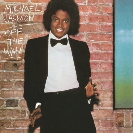 Vinile off the wall copertina album michael jackson