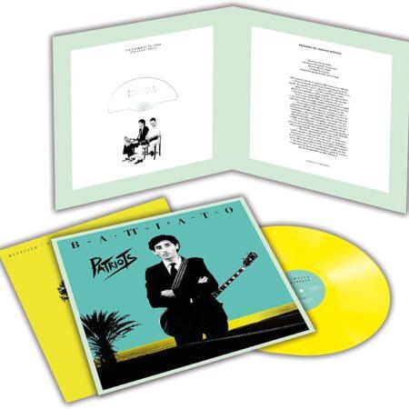 Vinile Patriots Ristampa Album Franco Battiato 40th anniversary