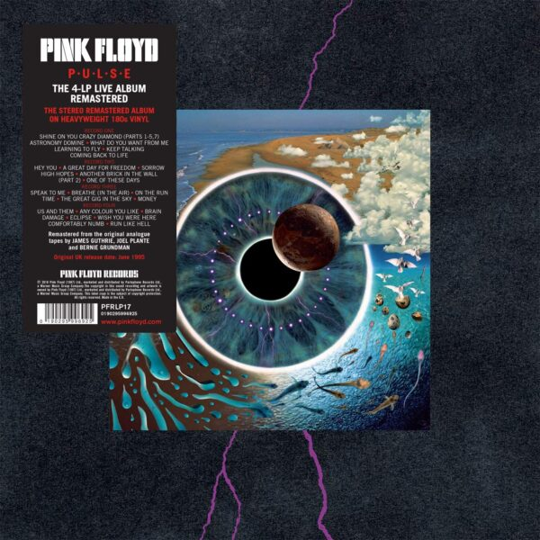 Vinile Pulse Box 4 LP Album Pink Floyd