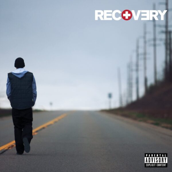 Vinile Recovery Album Eminem copertina