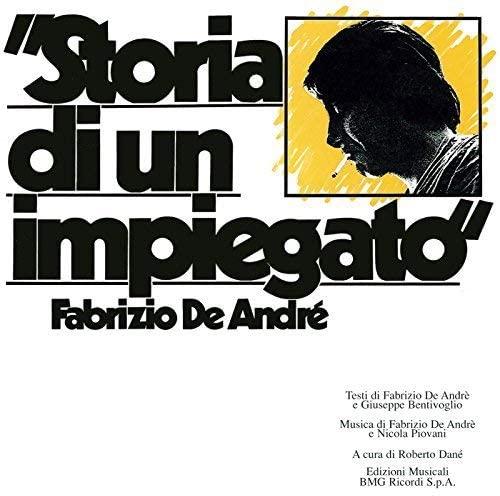 Vinile Storia di un impiegato - Album Fabrizio de Andrè copertina