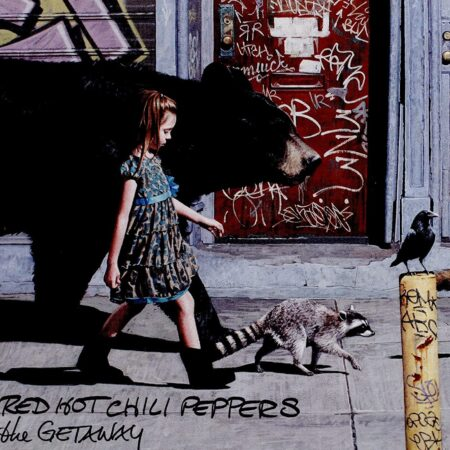 Vinile The Getaway Cover Album Red Hot Chili Peppers
