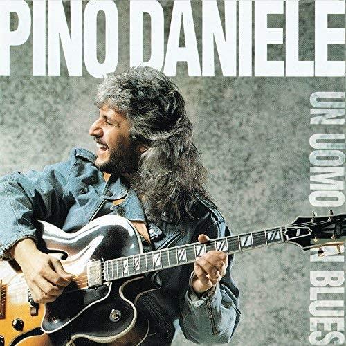 Vinile Un Uomo in Blues Pino Daniele Album Copertina