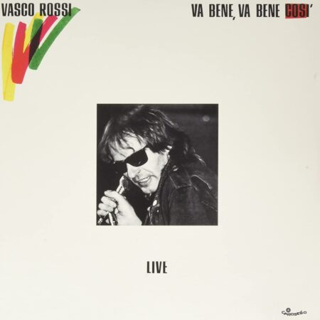 Ristampa Vinile Va bene così Vasco Rossi