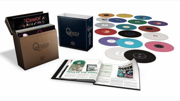 Box Edizione Limitata The Studio Collection Album Queen Vinili colorati The Studio Collection Raccolta Queen
