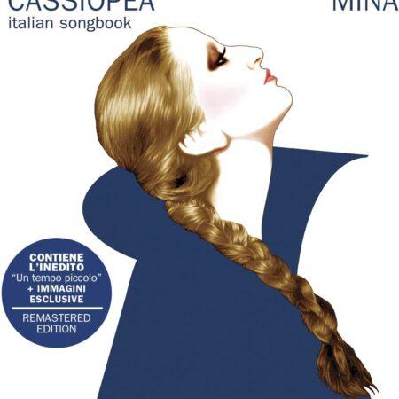 Vinile Cassiopea colorazione blu album Mina Mazzini