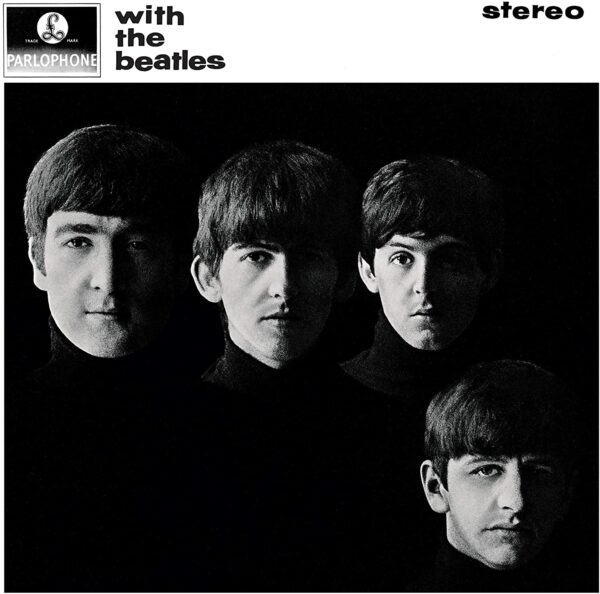 Vinile with the beatles album
